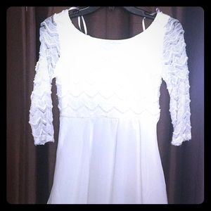 Girls White dress,holiday ,dance
